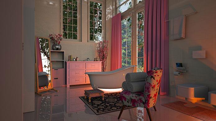 Dywaniki łazienkowe okrągłe, kwadratowe, nieregularne… Jak dopasować kształt dywaników do aranżacji łazienki?