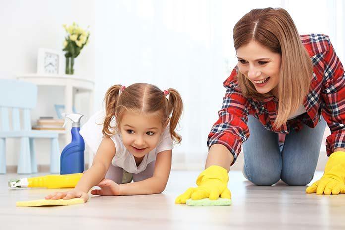Jak zaangażować dzieci do sprzątania w domu